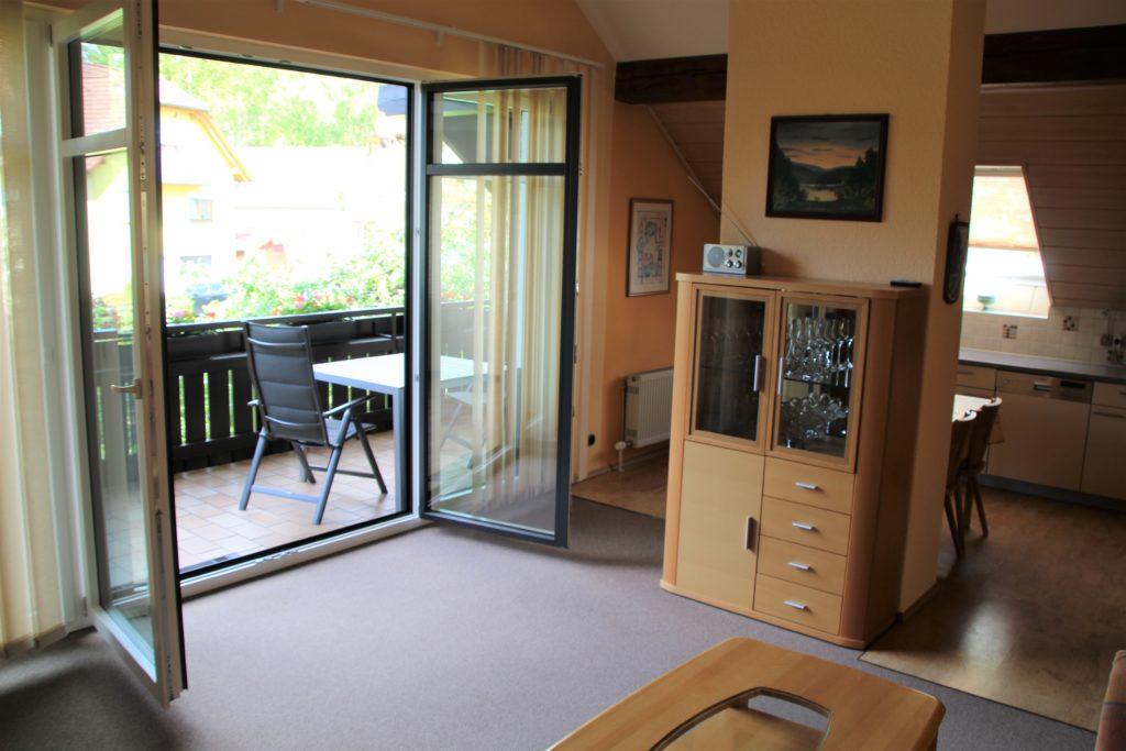 Ferienwohung Obernsees Fränkische Schweiz - Wohnzimmer