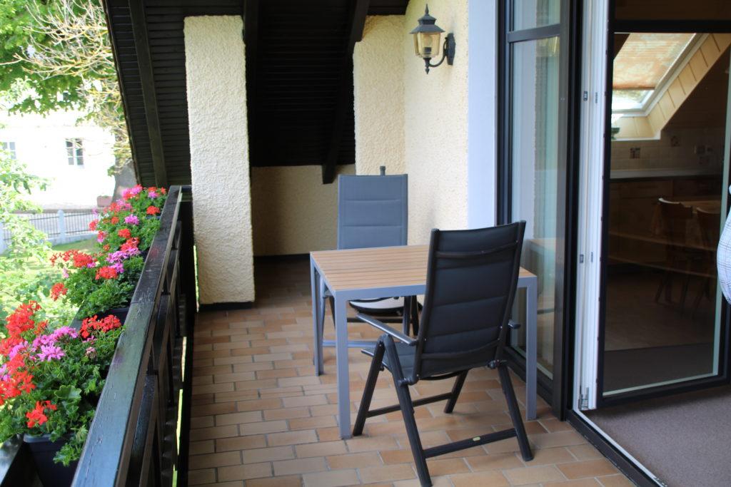 Ferienwohung Obernsees Fränkische Schweiz - Balkon
